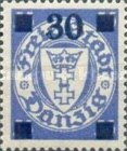 [Overprints on Coat of Arms, type BH4]