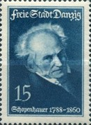 [The 150th Anniversary of the Birth of Arthur Schopenhauer, 1788-1860, type CF]