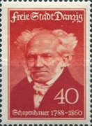 [The 150th Anniversary of the Birth of Arthur Schopenhauer, 1788-1860, type CH]