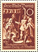 [The day of the Stamp - The 125th Anniversary of the Recovery of the Hanseatic City of Danzig to Prussia, type CO]