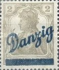 [New Overprint, Typ D]