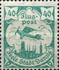 [Airmail - See Also No. 106-112, type S]
