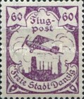[Airmail - See Also No. 106-112, type S1]