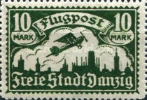 [Airmail - See Also No. 106-112, type T1]