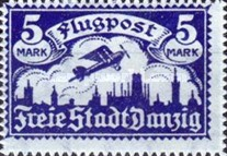 [Airmail - See Also No.57-62, Typ T2]