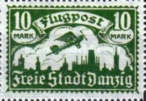 [Airmail - See Also No.57-62, Typ T3]