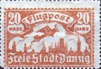 [Airmail - See Also No.57-62, type T4]