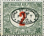 [Hungarian Postage Due Stamps Overprinted, Typ A3]