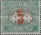 [Hungarian Postage Due Stamps Overprinted, Typ A4]