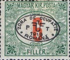 [Hungarian Postage Due Stamps Overprinted, Typ A5]