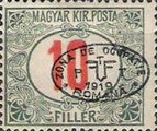 [Hungarian Postage Due Stamps Overprinted, Typ A6]