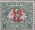 [Hungarian Postage Due Stamps Overprinted, Typ A7]