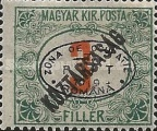[Hungarian Postage Due Stamps Overprinted, Typ B1]