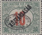 [Hungarian Postage Due Stamps Overprinted, Typ B2]