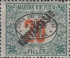 [Hungarian Postage Due Stamps Overprinted, Typ B3]