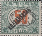 [Hungarian Postage Due Stamps Overprinted, Typ B5]