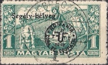 [War Charity Stamps Overprinted