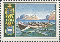 [Faroese Boat & Cot of Arms, Typ T]