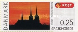 [Franking Label - Roskilde Cathedral, Typ BN]