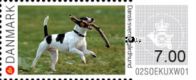 [Franking Labels - Dogs, Typ CA]