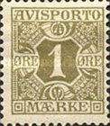 [Newspaper postage-due stamps, Typ A]