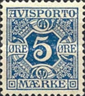 [Newspaper postage-due stamps, Typ A1]
