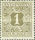 [Newspaper postage-due stamps, Typ B]