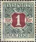 [Newspaper postage-due stamps, Typ B9]