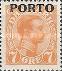 [Overprinted postage stamps, Typ A2]