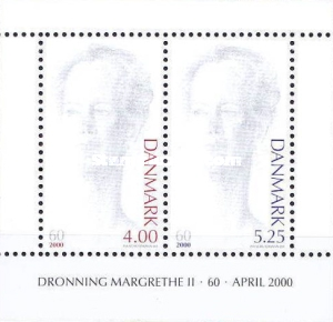 [The 60th Anniversary of the Birth of Queen Margrethe II, Typ ]