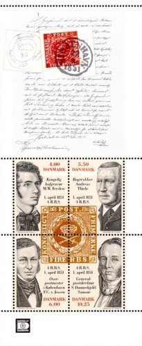 [The 150th Anniversary of the First Danish Stamp, Typ ]
