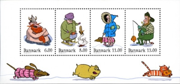 [Winter - Self Adhesive Stamps, Typ ]