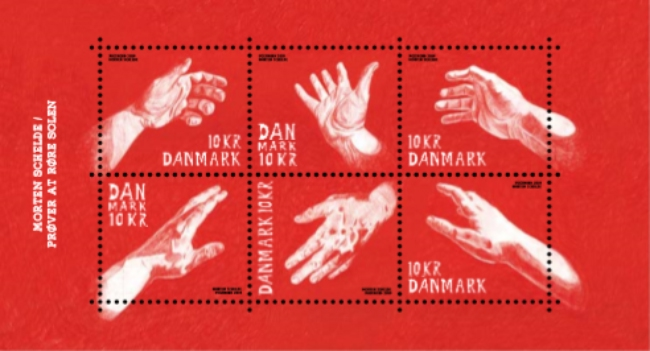 [Art on Stamps - Morten Schelde, Typ ]
