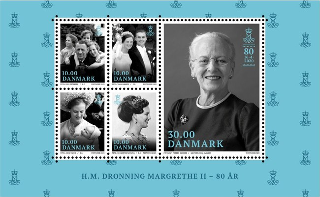 [The 80th Anniversary of the Birth of Queen Margrethe II, Typ ]