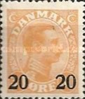 [King Christian X - Stamps of 1921-1922 Surcharged, type AI]
