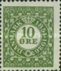 [The 75th Anniversary of the First Danish Stamp, type AK]
