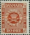 [The 75th Anniversary of the First Danish Stamp, Typ AL]