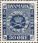 [The 75th Anniversary of the First Danish Stamp, type AL1]