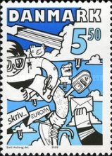 [EUROPA Stamps - Writing Letters, Typ AMH]