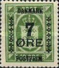 [Coat of Arms - Government Service Stamps Surcharged New Value, type AO4]