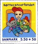 [Danish Child Cancer Foundation - Self Adhesive, Typ AOE]
