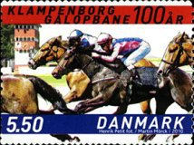 [Horses - The 100th Anniversary of Copenhagen Racecourse - Self Adhesive, Typ AOO]