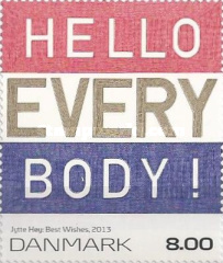 [Art on Stamps - Hello Every Body, Typ ASL]