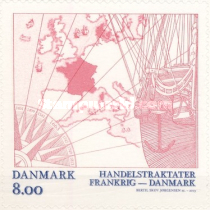 [The 350th Anniversary of the Danish-French Trade Treaty, Typ ASP]