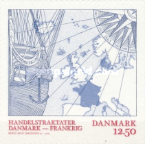 [The 350th Anniversary of the Danish-French Trade Treaty, Typ ASQ]