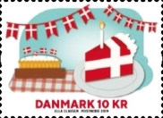 [The 800th Anniversary of the Danish Flag, Typ AXW]