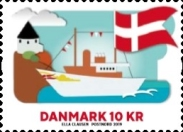 [The 800th Anniversary of the Danish Flag, Typ AXX]