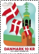 [The 800th Anniversary of the Danish Flag, Typ AXZ]