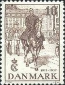 [The 25th Anniversary of King Christian X Accession of the Throne, Typ BG]