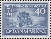 [The 200th Anniversary of the Death of Vitus Bering, type BT2]